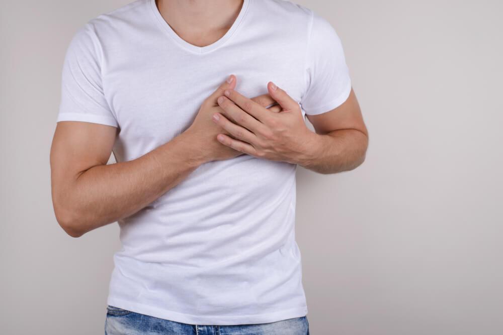 skauda dešinėje krūtinės pusėje išlaikyti ir alkūnės gydymas