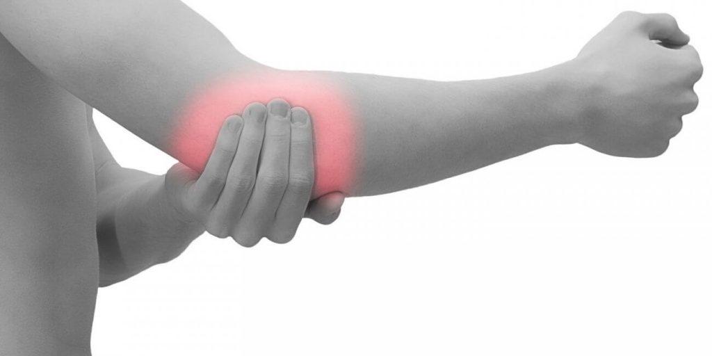 slash skausmas alkūnės