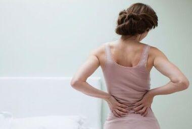nuolatinė nugaros skausmas ir sąnarių uždegimas nuo kumeliukų sąnarių
