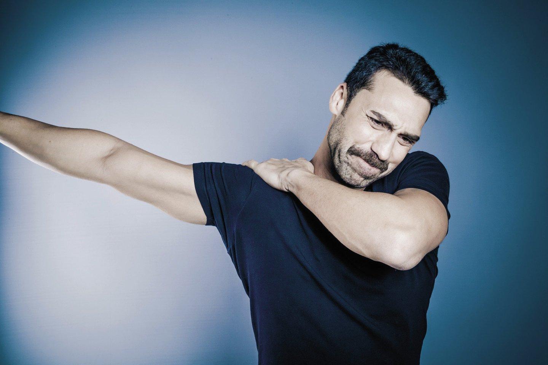skausmas pečių sąnarių ir alkūnės gydymo iš rankos sąnarių skausmai
