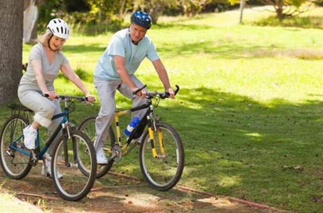 dviračių už artrozės gydymo