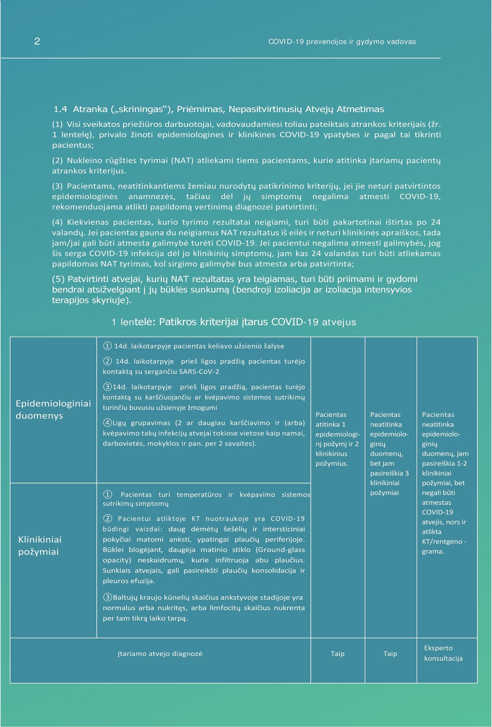 gydymo ir prevencijos bendrų ligų
