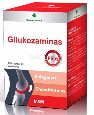 chondroitino gliukozamino kainą apžvalgos analogai