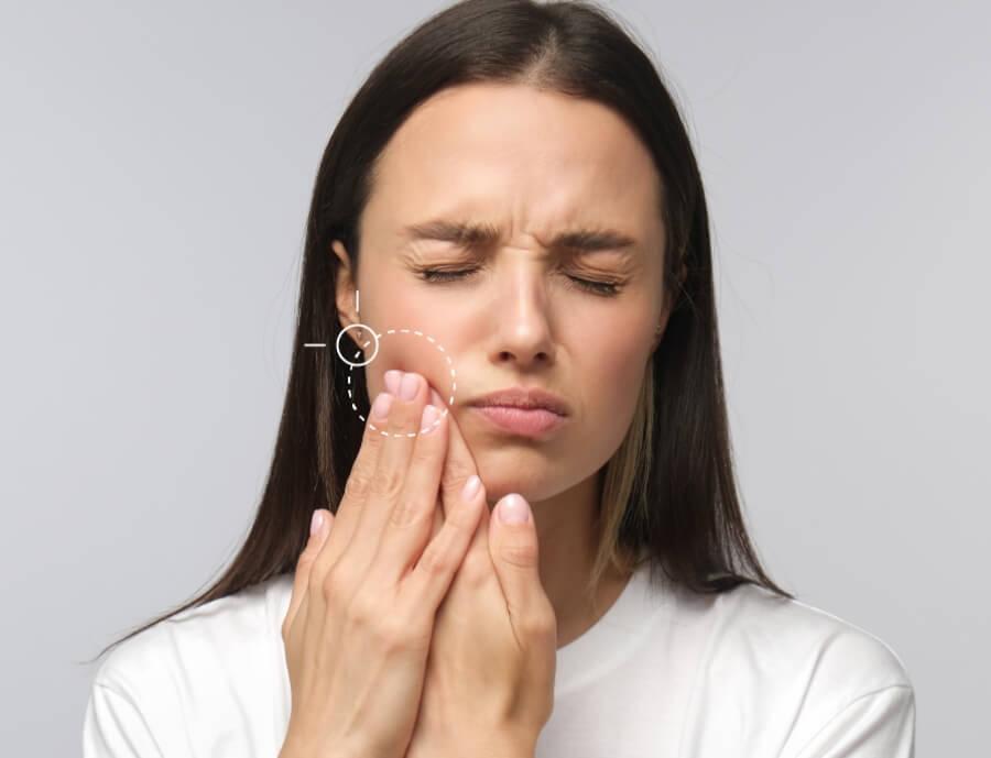 žandikaulio sąnarių skauda gydymas 45 metų skauda