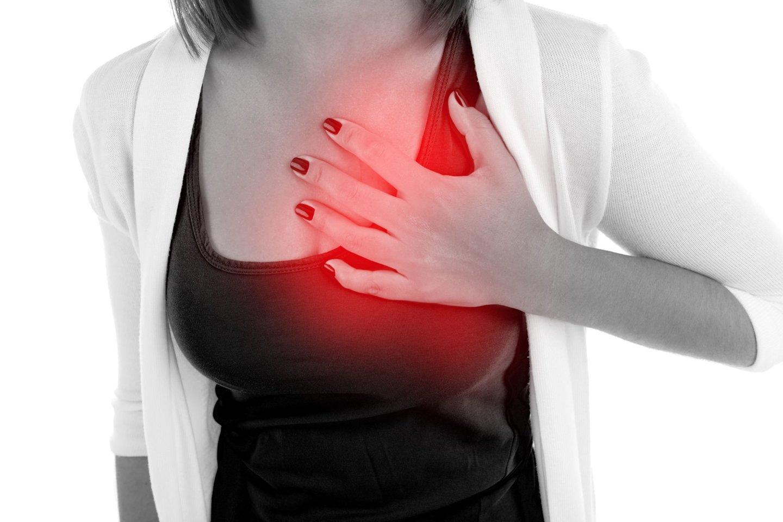 skauda dešinėje krūtinės pusėje skausmas alkūnės sąnario rankų valymo